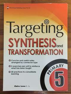 Targeting Synthesis and Transformation Primary 5