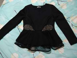 *reserved until monday* Zalia black top