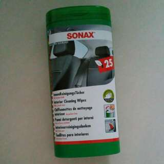 SONAX Interior Cleaning Wipes (Brand NEW ORIGINAL)
