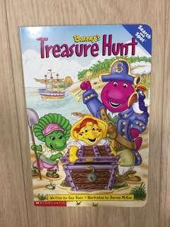 Barney's Treasure Hunt board book