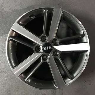 "From New Car 17"" Original Kia Rims"