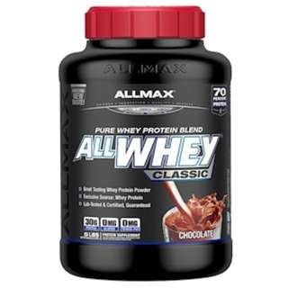 In Stock ALLMAX Nutrition, AllWhey Classic, 100% Whey Protein, Chocolate, 5 lbs (2.27 kg)