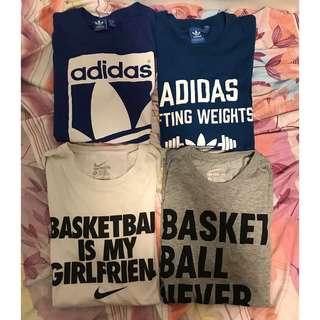 [運動衫] Nike Adidas NBA 籃球 球衣 Tee Shirt T-Shirt