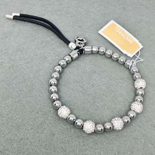 Michael Kors Sample Bracelets stainless steel 銀色閃石不鏽鋼手鏈