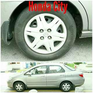 Tyre 175/70 R14 Membat on Honda City 🐕 Super Offer 🙋♂️