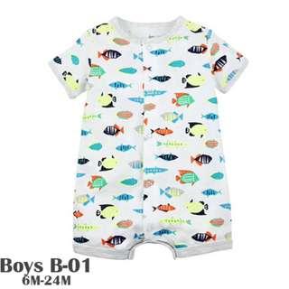 Boys romper B-01