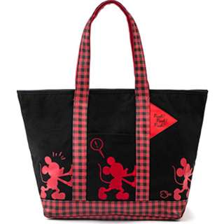 🔆預訂🔆迪士尼 disney  米奇 Mickey Mouse 黑紅色 手挽袋 單肩包 帆布袋