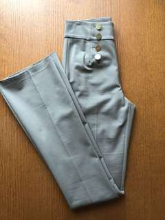 Marciano Olive Green Flared Sailor Pants Size 6