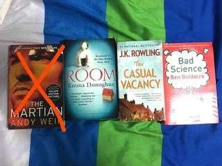 Used Books / Novel (various titles)