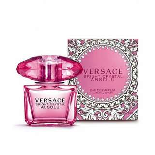 Versace Bright Crystal Absolu Edp For Women 90ml