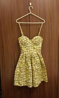 Bustier summer dress