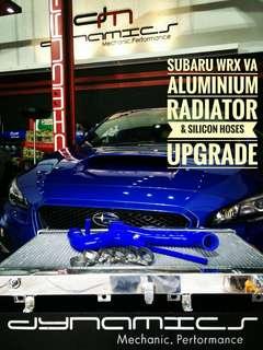 Subaru WRX VA : Aluminium Radiator Upgrade