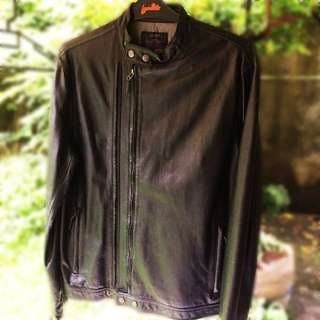 Men's Leather Jacket/ Jaket Kulit Pria