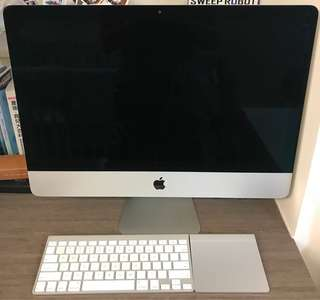 """iMac 21.5"""" with keyboard and trackpad, late 2012 model"""