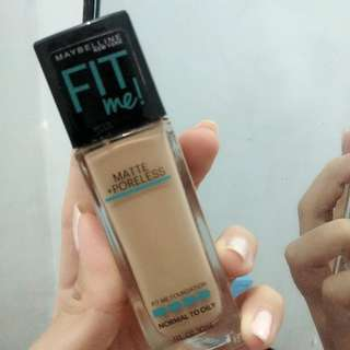 Maybelinne fit me foundation ORI
