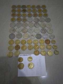 Uang Koin lama rupiah