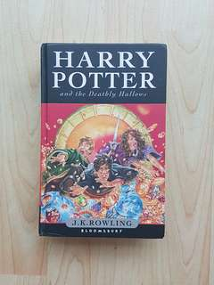 Harry Potter and the Deathly Hallows Hardcover by J.K. Rowling