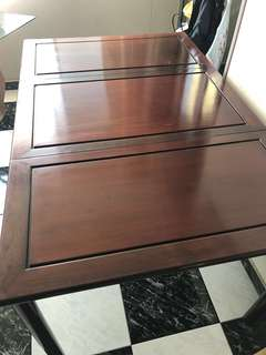 Blackwood Dining table+ 6 chairs