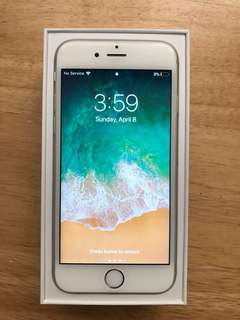 iPhone 6s Silver (64gb) unlocked