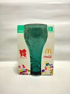 (RM10👌)London 2012 Olympic Games Coca Cola Glass