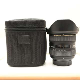 SIGMA 10-20mm F4-5.6 wide lens for Nikon