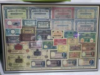 Collection of Straits Settlements Poster