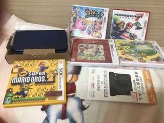 🚚 品名:3DSLL日規 只玩過2次,曜西、牧場物語遊戲片全新未拆封 1.馬力歐賽車 2.卡比之星 3.牧場物語 4.曜西 5.超級瑪利
