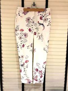 Authentic Monsoon floral cuff pants