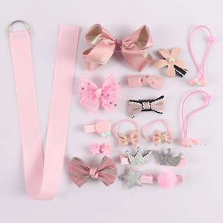 (Pre-order) 18 pieces hairclip set (box included)
