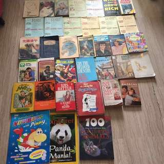 All books $15 in bundle 36 items