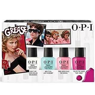 OPI Grease Collection 4 pc Mini Nail Lacquer .125 Fl. Oz.