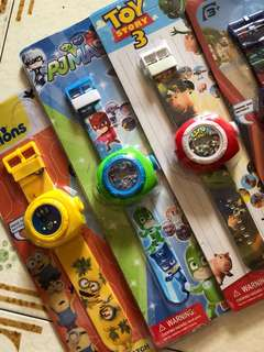 Projector Watch / LED Watches / Digital watches/ Goodie bag party birthday gift