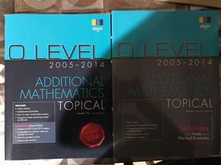 O level A maths Ten year Series 2005-2014