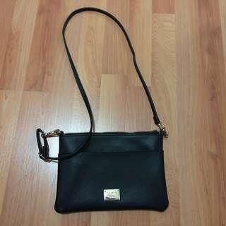 Colette Gold Black side bag