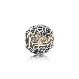 Pandora Message of Love Charm