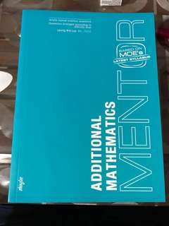 Additional mathematics mentor book