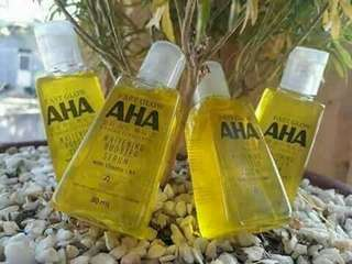 AHA whitening body serum
