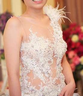 Wedding dress (by Cynthia Tan)