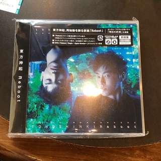 [全新未開] 東方神起日本版Reboot(CD+DVD版)