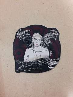 Daenerys Targaryen Game of Thrones PVC Sticker