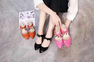Chanel closed heels