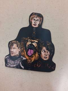 Lannisters Game of Thrones PVC Sticker