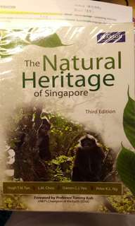 GES1021 Natural Heritage Textbook with notes!