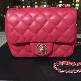 Chanel mini square 17cm