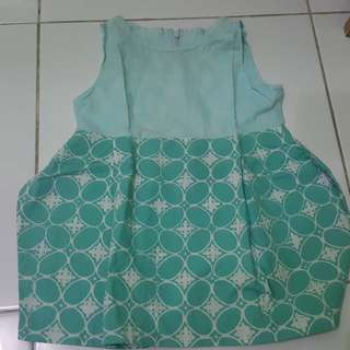 Preloved dress batik bayi