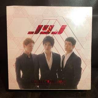 [割價全新] JYJ絕版官方精美Collection Card (西裝封面盒)