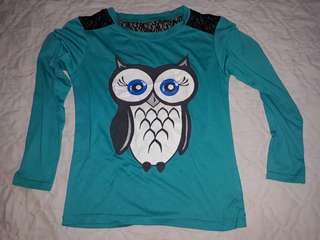 Owl longsleeve