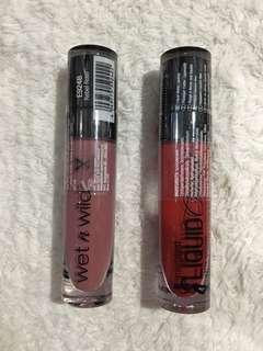 WetnWild Liquid Lipsticks
