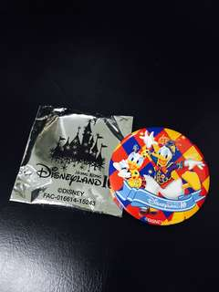 Hong Kong Disneyland 10th Anniversary Limited Pin (Donald & Daisy Duck) 香港迪士尼10周年限量版紀念襟章 (唐老鴨&黛西)