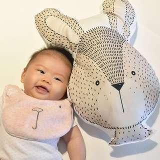 Bunny Stuffed Plush Toy Pillow